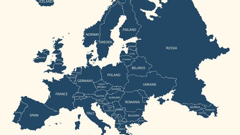 norsk kart over europa Europeisk samarbeid   Studentsiden   Medlem   Norsk Psykologforening norsk kart over europa